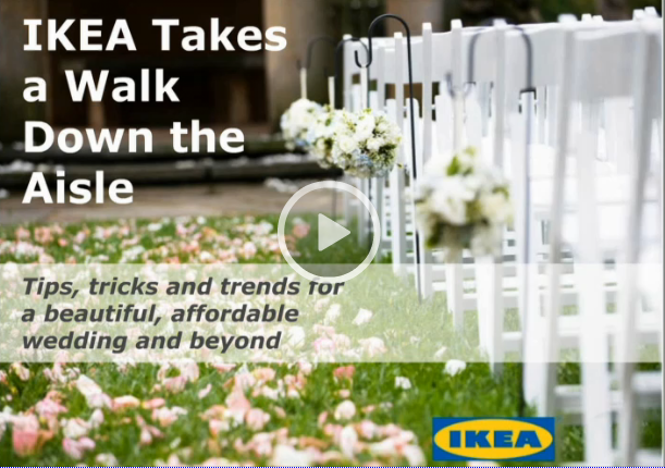 Ikea digital wedding