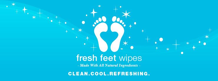 Fresh Feet Wipes