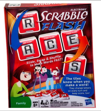 Hasbro's Scrabble Flash Game $29.99