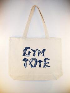 Etsy gym tote