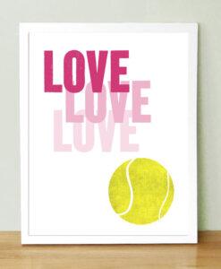 Etsy Tennis fan gift