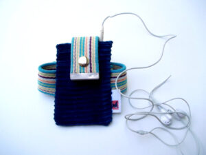 iPhone iPod Armband from Recycled Materials