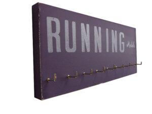 Etsy running medals display