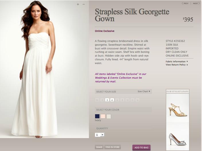 An ann taylor wedding dress the perfect choice for my wedding ann taylor wedding dresses junglespirit Choice Image