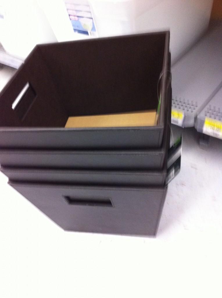storage bins at walmart