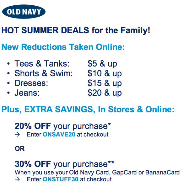 Gap.com coupon code