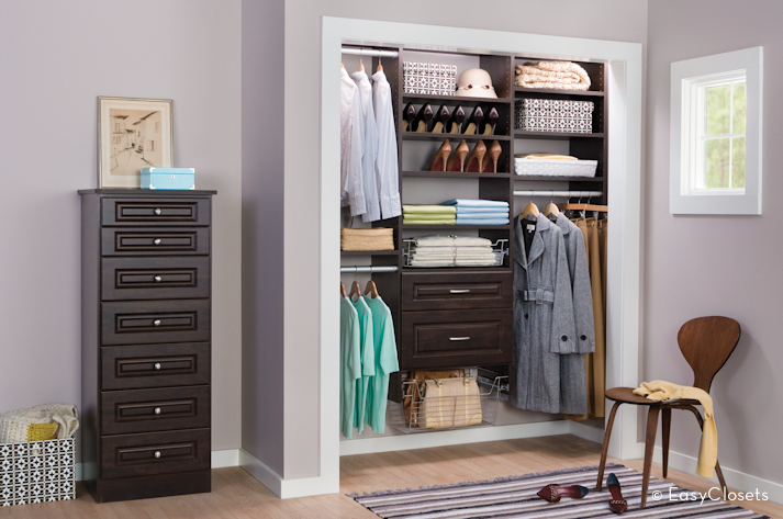 My closet dream install a closet from easyclosets period for Easyclosets
