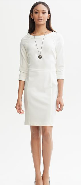 The Winter Little White Dress - Stylish Life for Moms