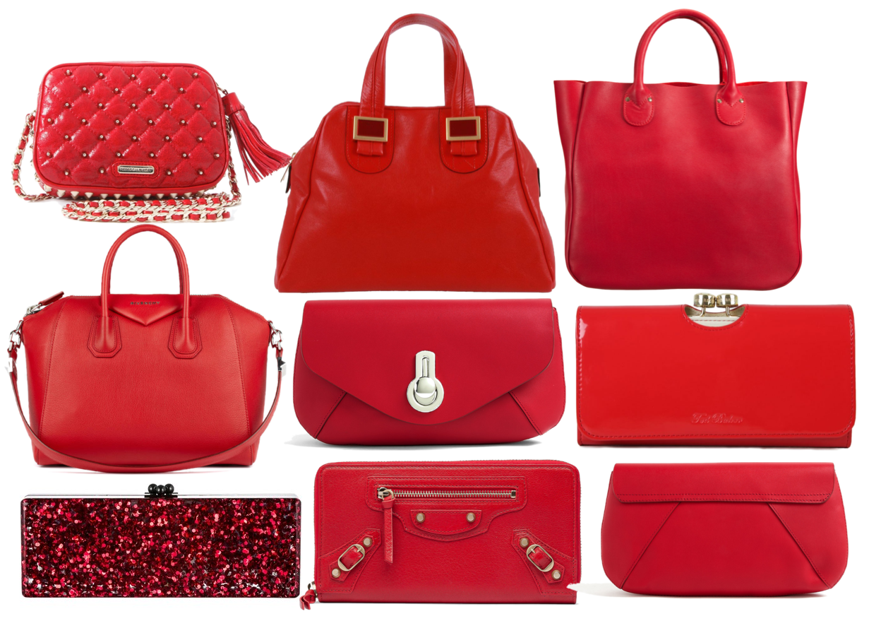 Christmas dress kid - Fashion Inspiration For The Day Red Handbags For The Holidays