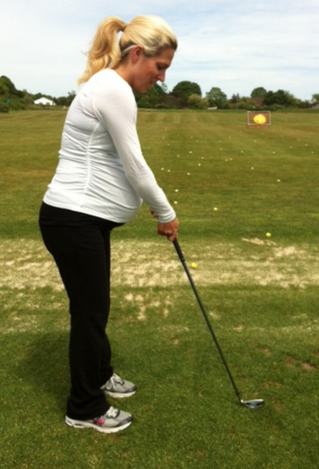 Golfing While Pregnant