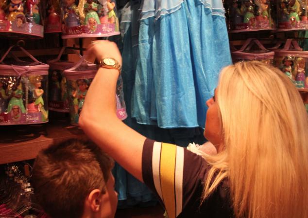 Bibbidi Bobbidi Boutique Disneyland