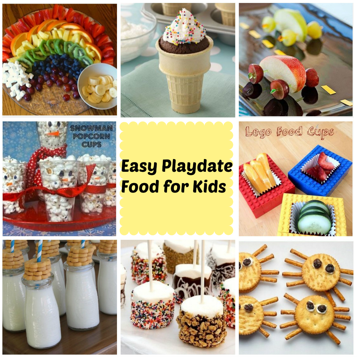 Best Kid Food Ideas For A Playdate Stylish Life For Moms