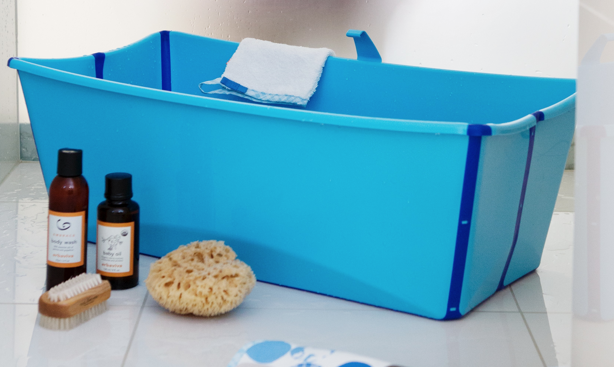 Stokke Introduces The Flexi Bath A Foldable Baby Bath
