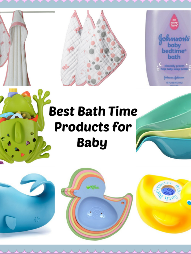 Best Bath Time Products for Baby