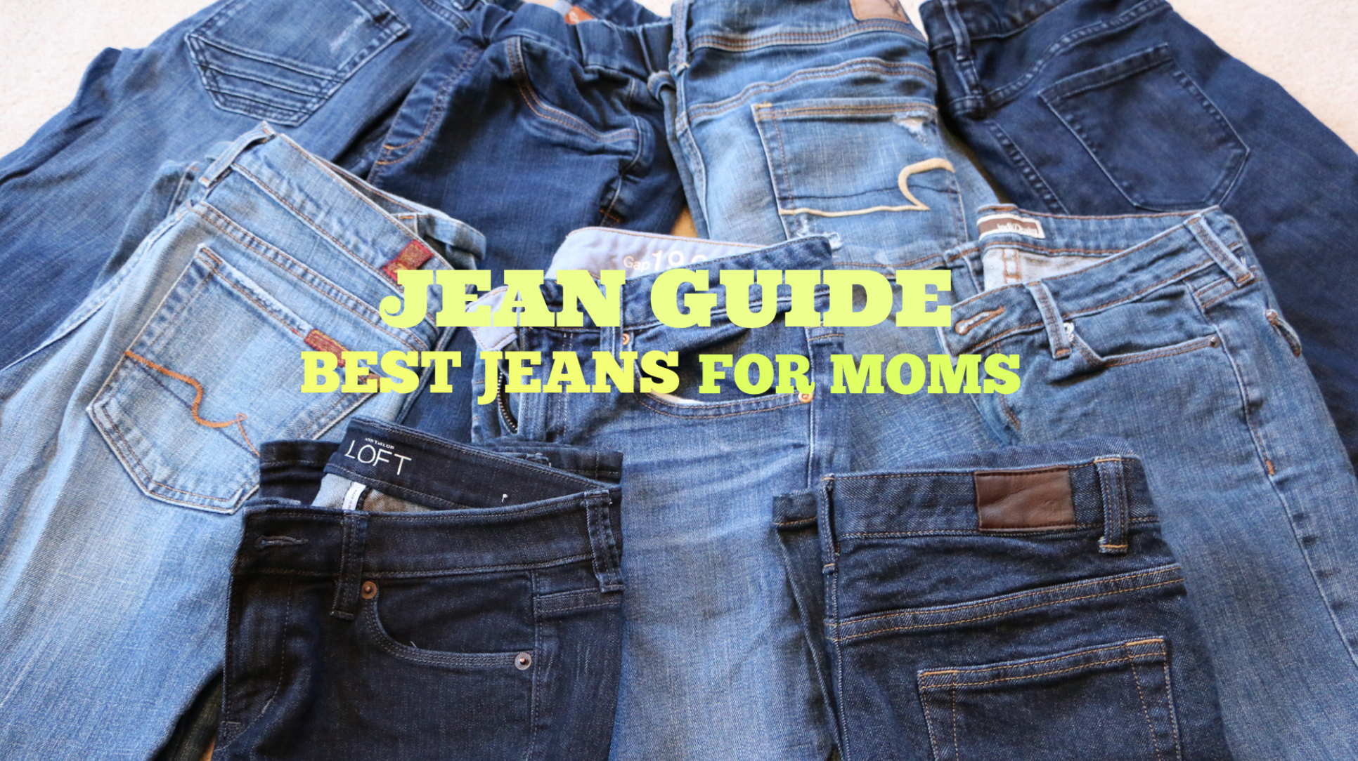 Before I was a mom, I swore I'd never, ever wear mom jeans. You remember them. One of the least-flattering fashions to emerge from the '90s — which says a lot, because the competition that decade was stiff — mom jeans' signature detail was that they went over the belly button while others had elastic waistbands, were stonewashed or even had pleats.