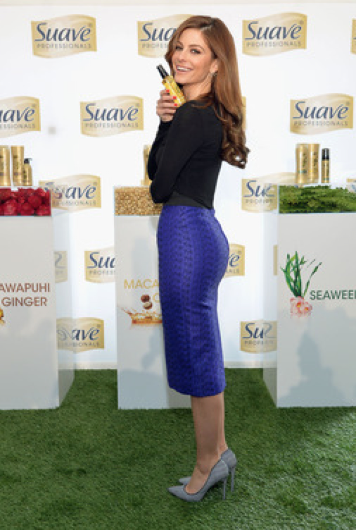 Suave Professionals Partners with GLAM4GOOD and Maria Menounos