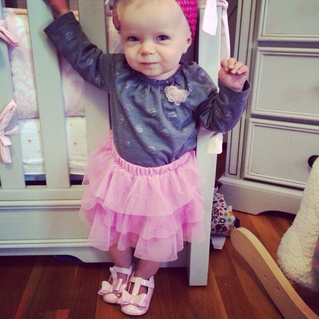 Baby Style: Tutu and Pretty Shoes #MyRobeez