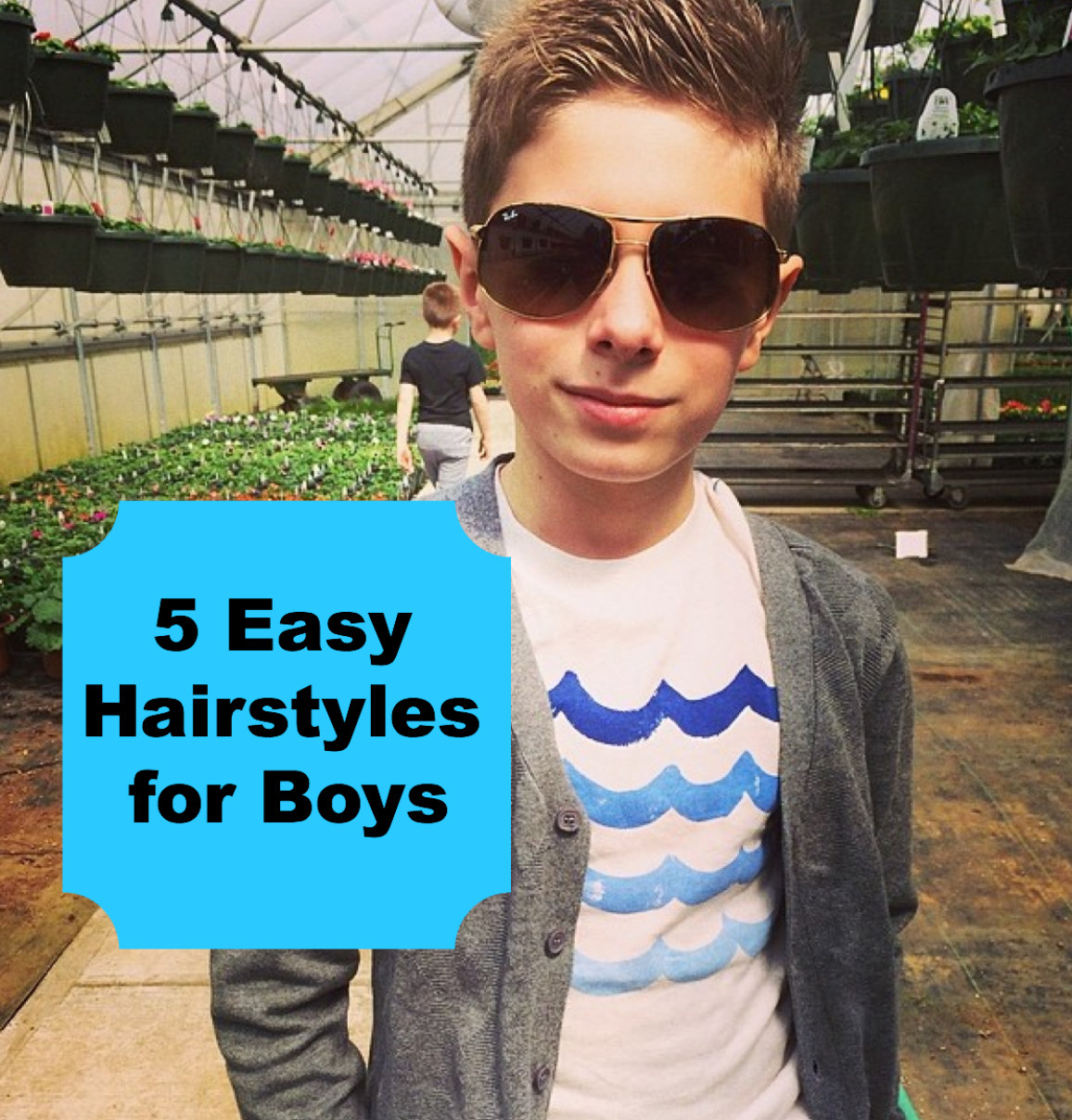5 Easy Hairstyles For Boys Stylish Life For Moms