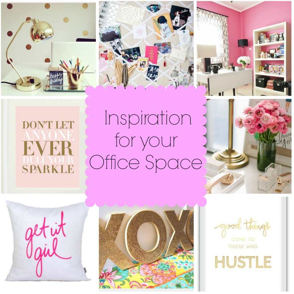 Getting Gorgeous at Home: How to add some inspiration to my office