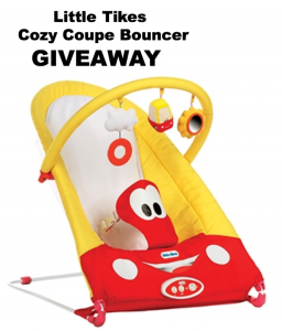 Little Tikes Cozy Coupe Bouncer and GIVEAWAY #Giveaway