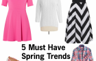 Mom Fashion: 5 Spring Fashion Trends You NEED