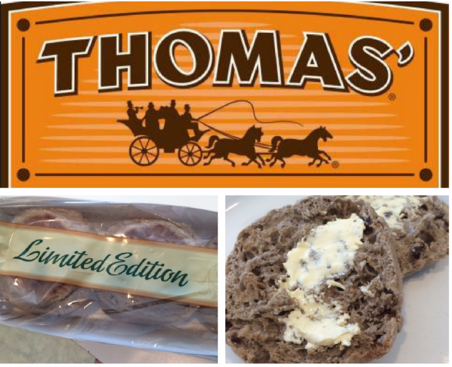 Food for Thought: Thomas' English Muffins & Bagels Limited Edition Flavors!