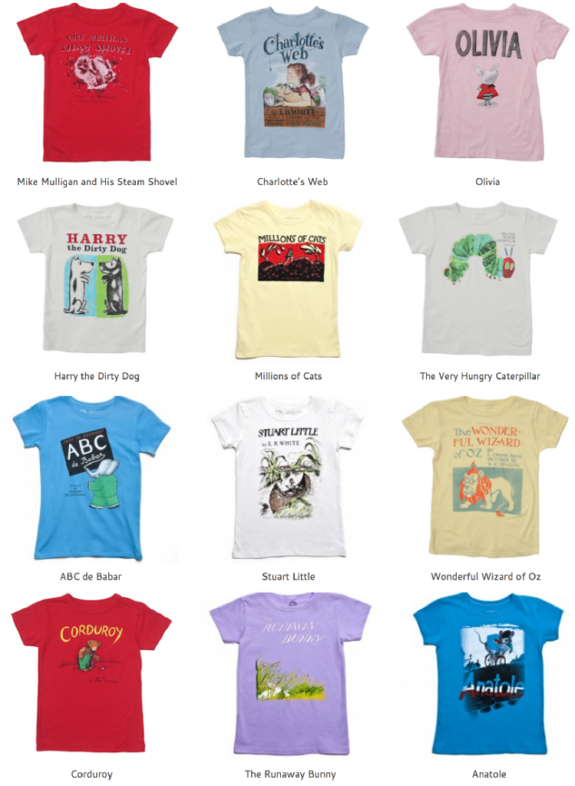 Kid Fashion Love from Out of Print Tees