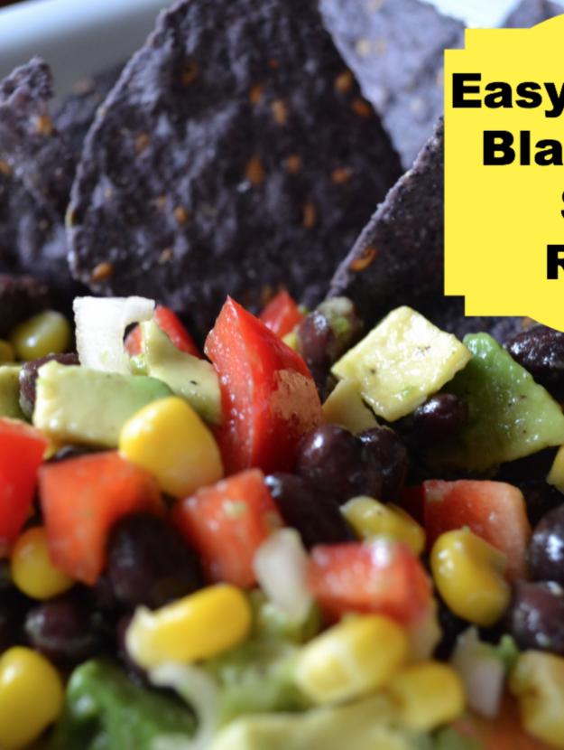 Easy Summer Black Bean Salad Recipe