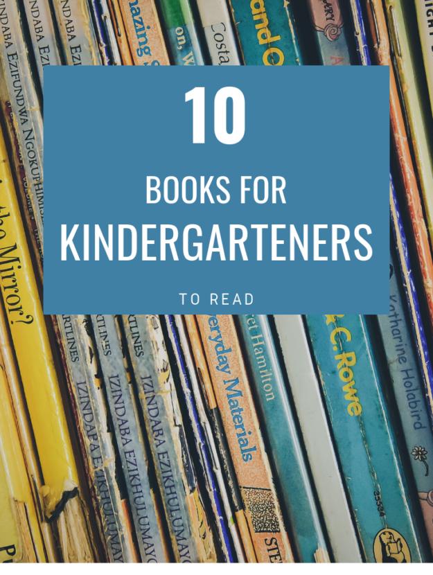 Best Books for Kindergarten