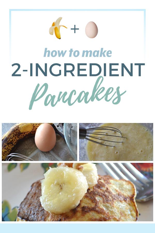 2 ingredient pancake recipe