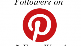 5 Ways to Get More Followers on Pinterest #SoYouWannaBeABlogger