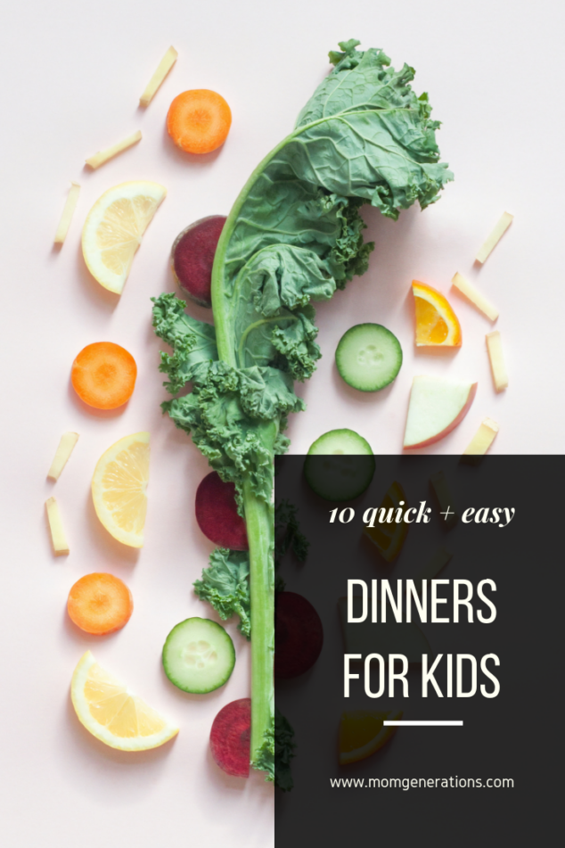 Easy Dinner Recipes for Kids
