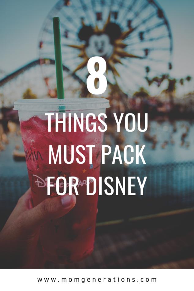 Disney Packing List