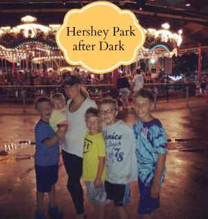 Hersheypark In The Dark