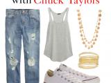 5 Ways to Wear Converse Chuck Taylors