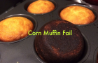 Mom Can't Cook: Corn Muffin Fail with the McClelland Bous