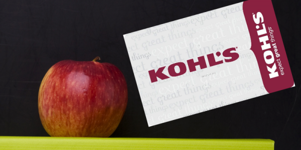$200 Kohl's Gift Card: Back To School Giveaway #GIVEAWAY