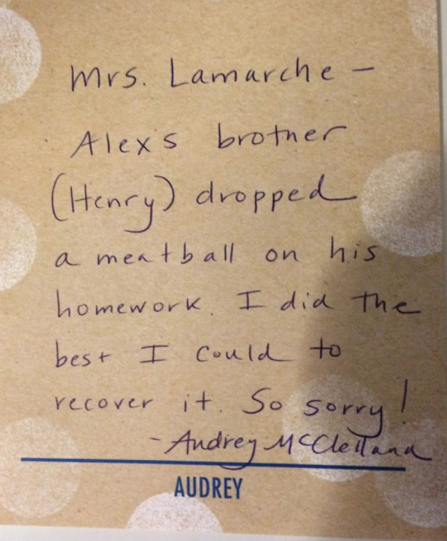 The best homework excuse