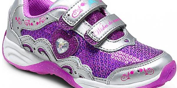 FROZEN Sneakers: Stride Rite Disney Wish Lights Anna & Elsa