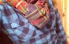 What to Wear Wednesday: Mixing Prints (I'm RAD for PLAID)