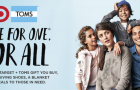 TOMS launch at Target for the Holidays  #TOMSforTarget