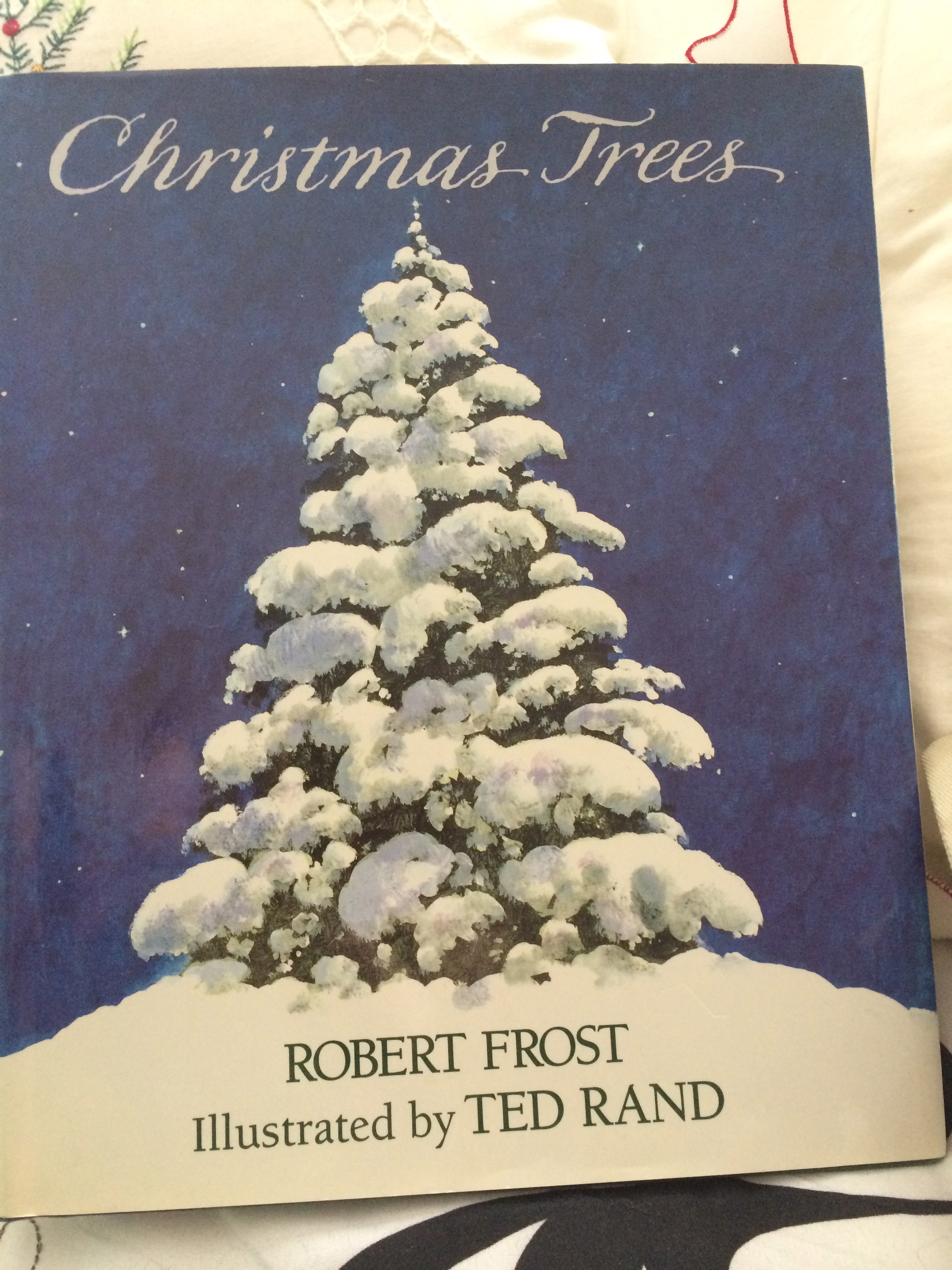 Christmas Trees By Robert Frost Part - 18: Today, Letu0027s Stop By Woods To Admire Christmas Trees. - Stylish Life For  Moms