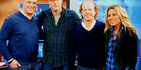 Fashion Friday: Blazer and Boots (and meeting Aaron Eckhart!)
