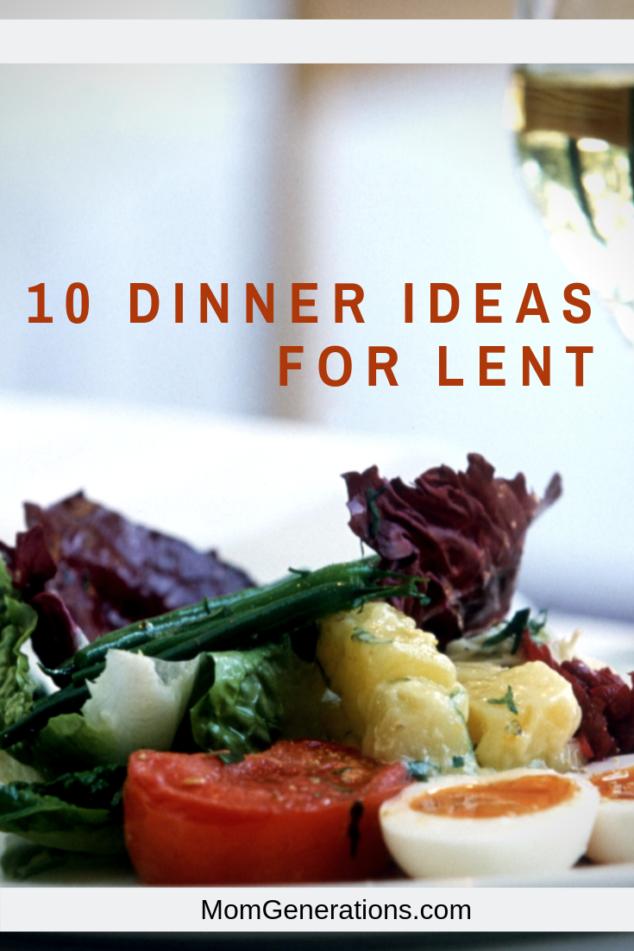 Lent Dinner Ideas