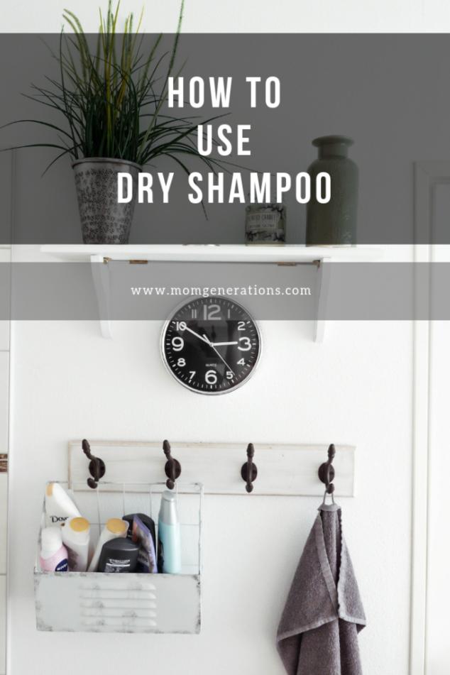 How to Use Dry Shampoo