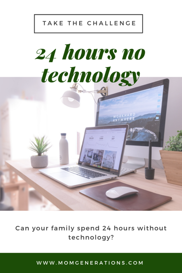 24 Hours No Technology Challenge