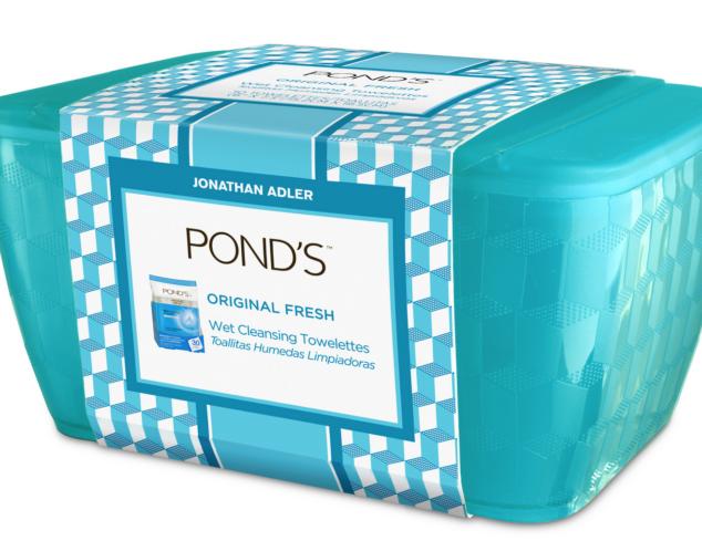 Pond's Towelettes for Jonathan Adler