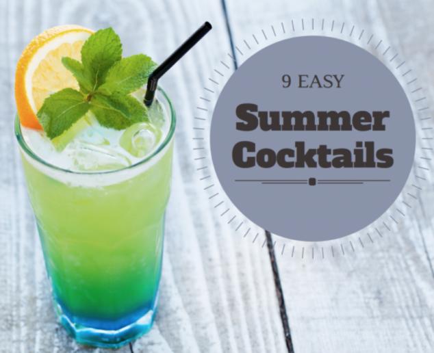 Easy summer drink recipes vodka