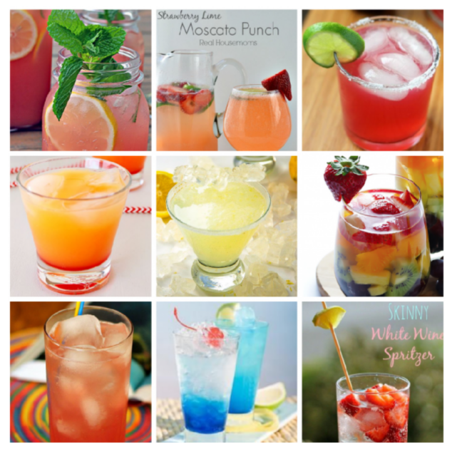 9 Easy Summer Cocktail Drinks