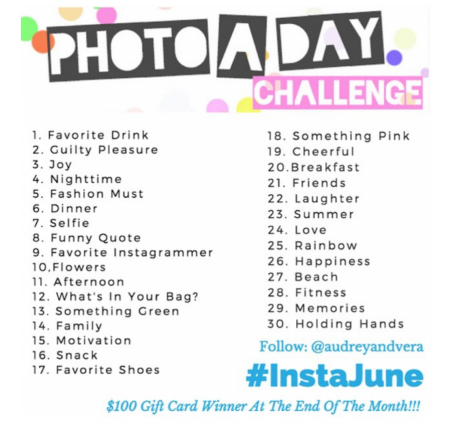 Instagram Challenge June Photo A Day Instajune Stylish Life For Moms